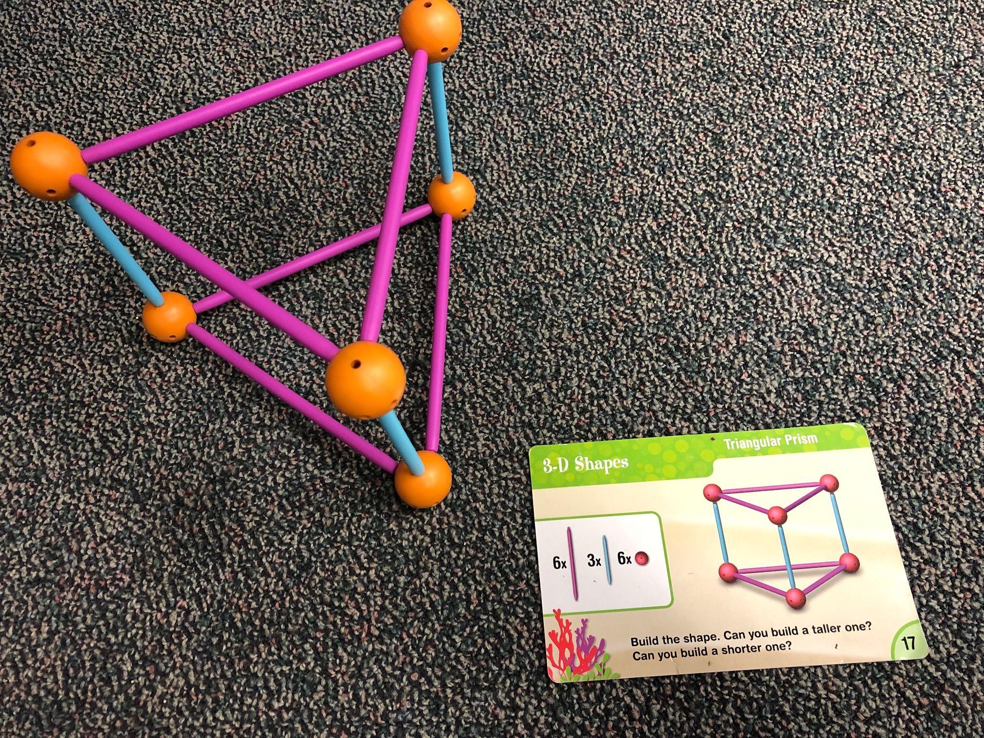 Making 3 D Shapes Triangularprism 3 D Shapes Gemometry