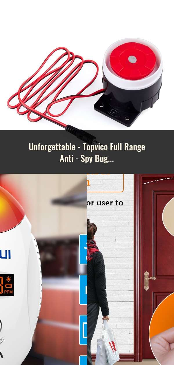 Topvico Full Range Anti Spy Bug Detector CC308 Mini