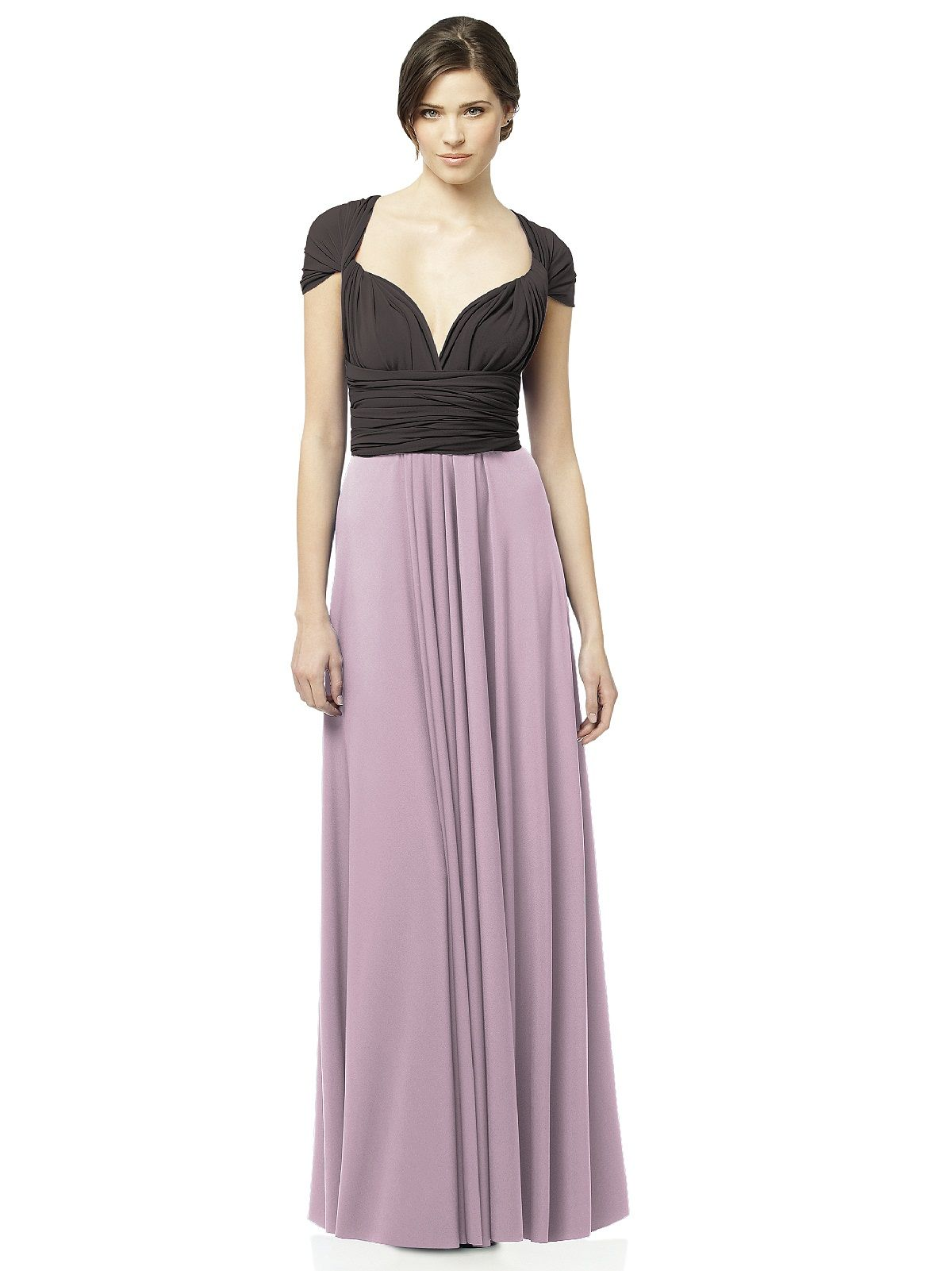 Twist Wrap Dress: Long Combo | Fashion | Pinterest