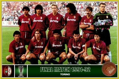 Image result for torino 1992 uefa cup final