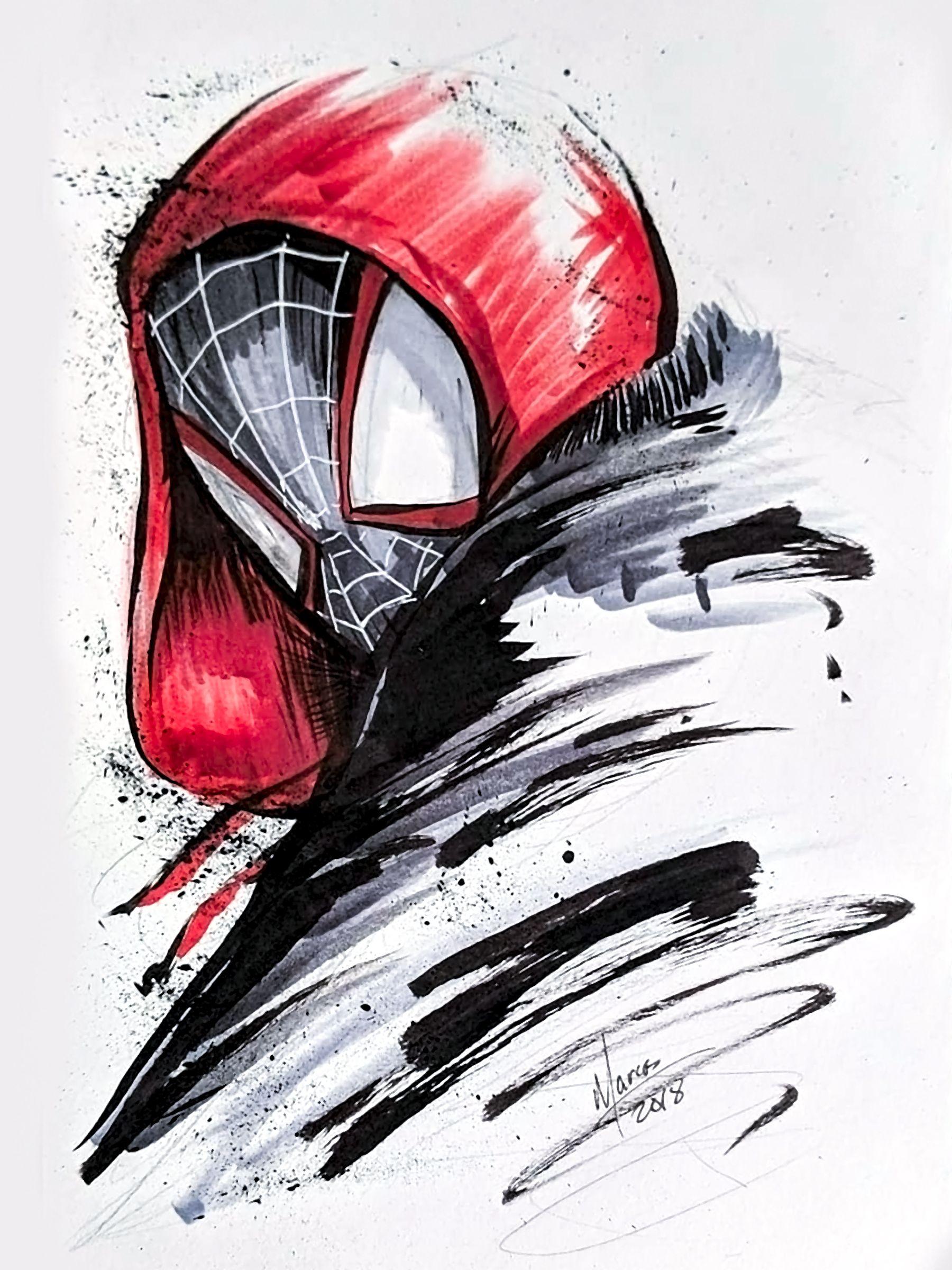 Ultimate Spider Man Miles Morales