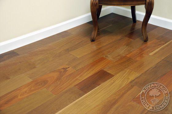 4 Prefinished Ipe Flooring Brazilian Walnut Floor Advantage Flooring Outlet Hardwood Floors Flooring Brazilian Walnut Floors