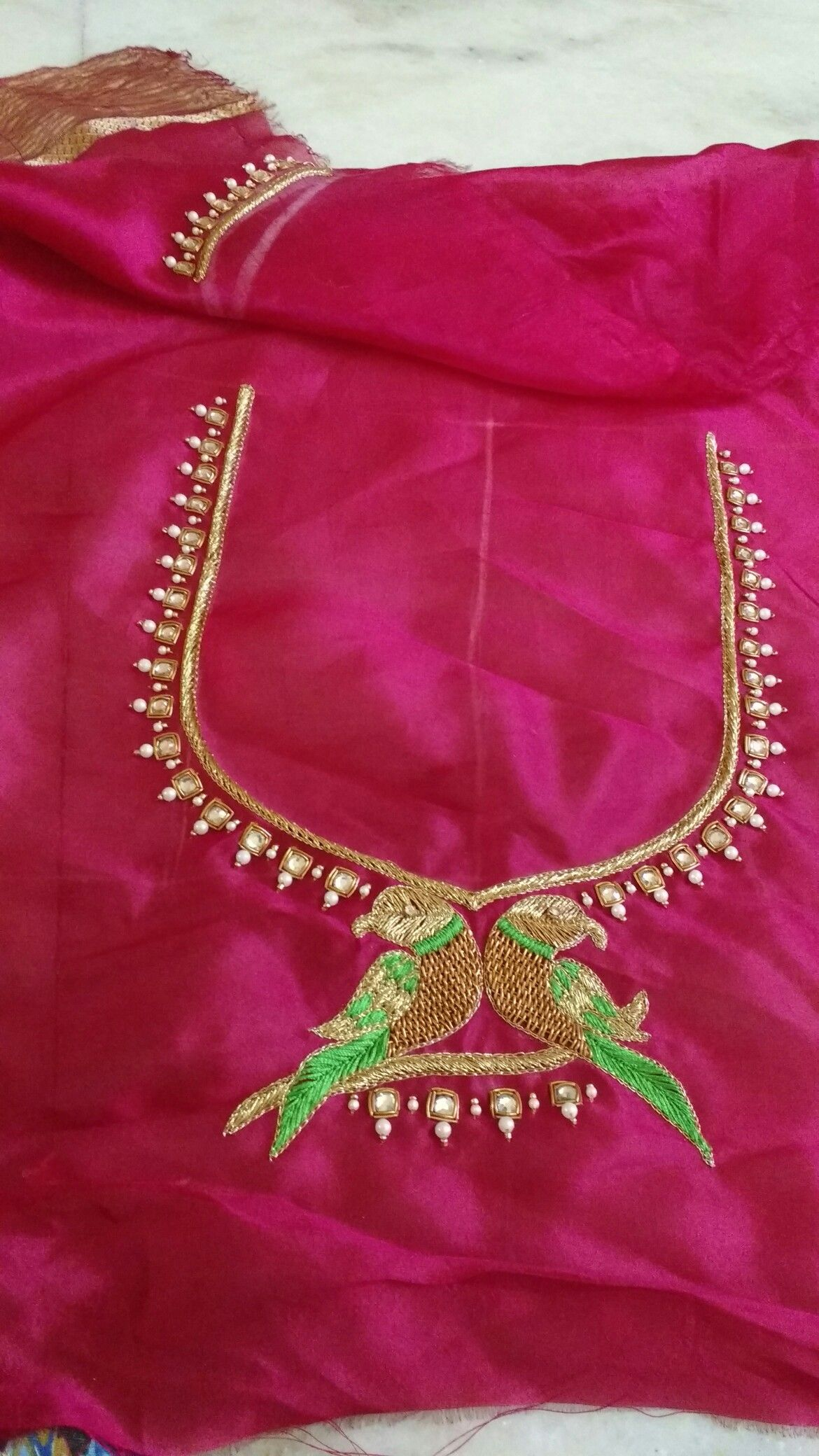 Maggam design blouse pinterest blouse designs embroidery and