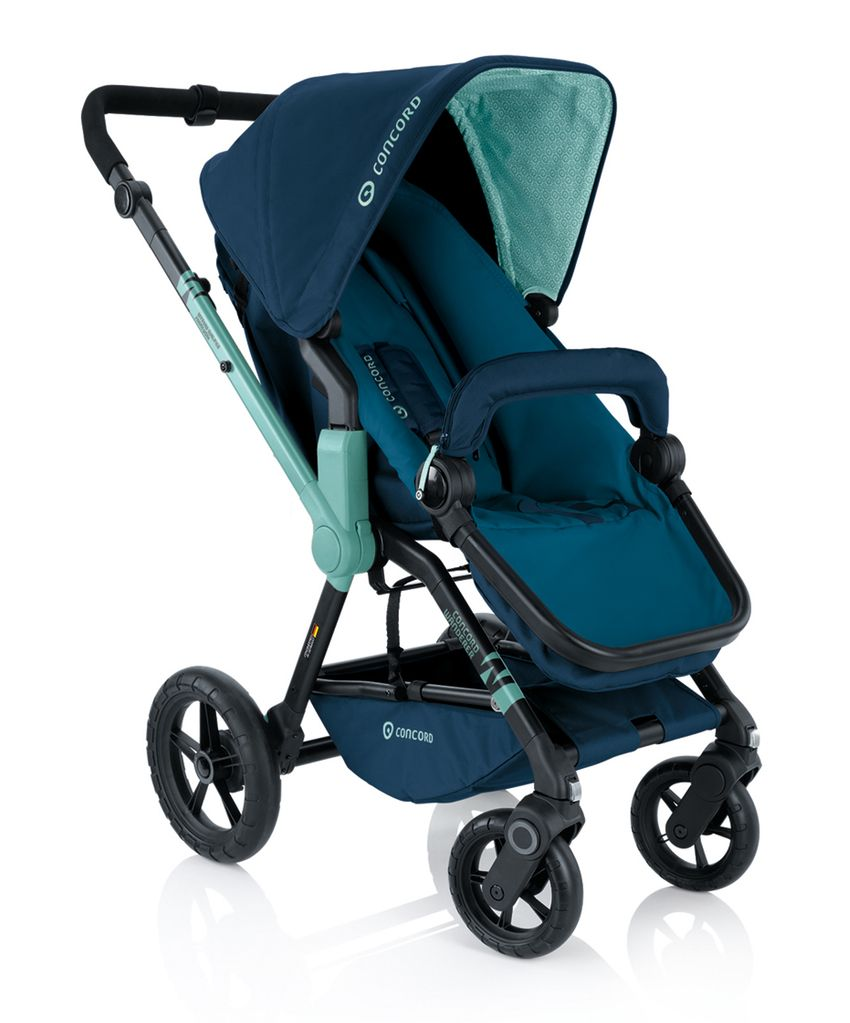 Baby buggy CONCORD WANDERER  whiteID - Integrated Design  + CONCORD design & developement  http://de.concord.es/produkte/moving/buggys/wanderer/aquablue/