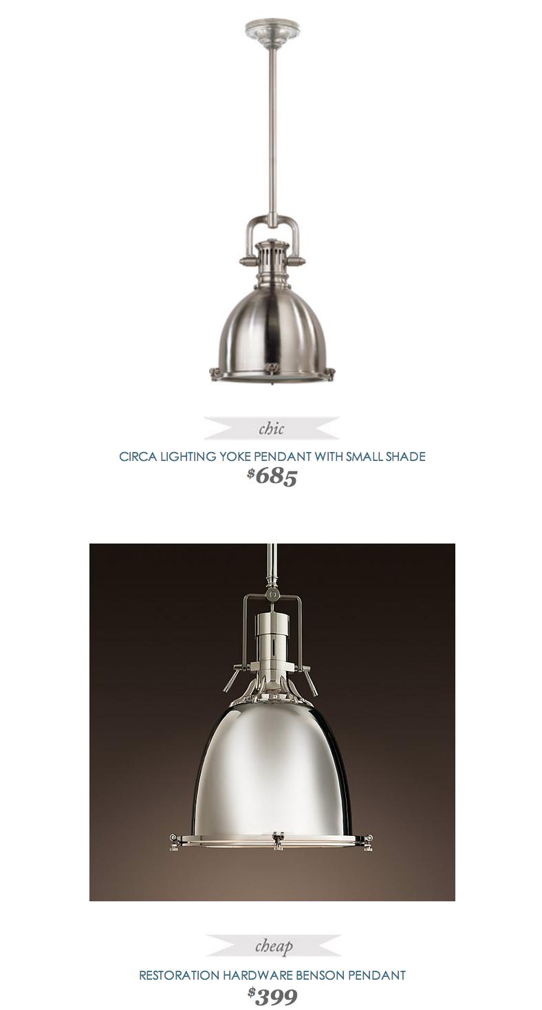 Circa lighting yoke pendant copycatchic daily finds pinterest