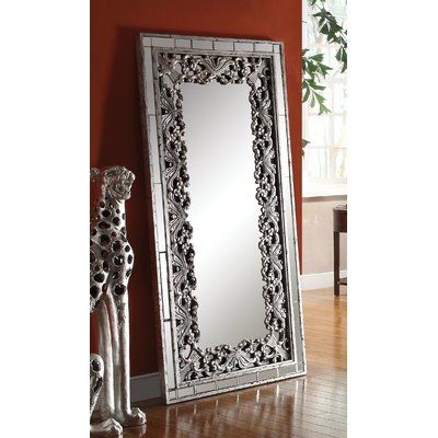 Astoria Grand Simons Accent Mirror is part of Silver Home Accents Sofas -