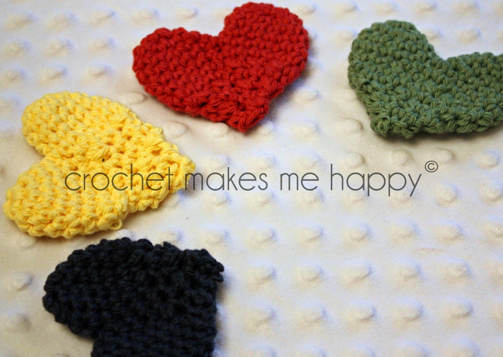 Crochet Pattern: The Heart Materials 100% 4 ply cotton yarn Size H ...