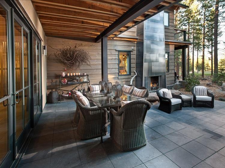 Terrasse Mit Fliesen Verlegen Und OutdoorKüche Einrichten Gtutzu - Outdoor fliesen verlegen