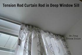 Uses For Tension Rods Tension Rod Tension Rod Curtains Curtain