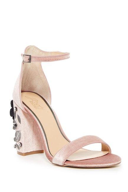 Jewel Badgley Mischka Alfreda Ankle Strap Sandal VCink4e