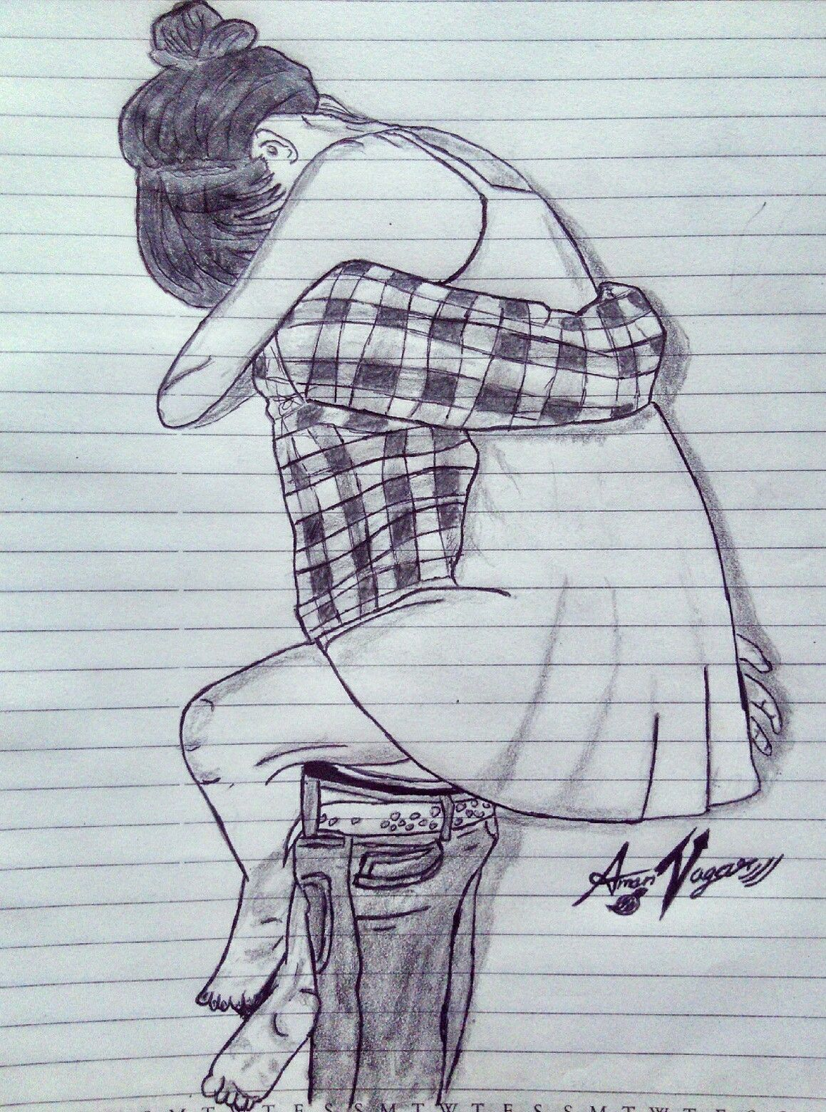 Love Couple Sketch : couple, sketch, Sketchs
