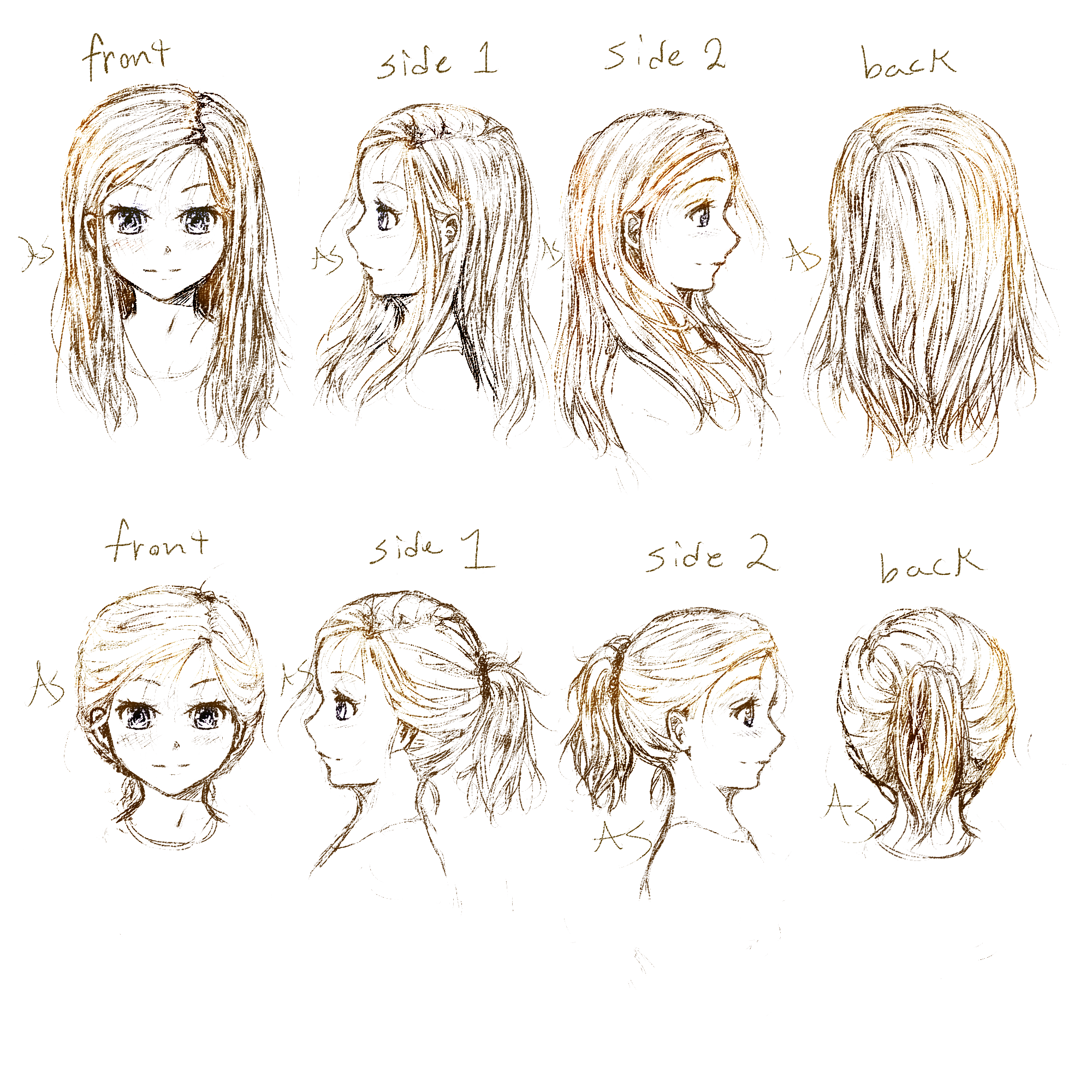 hairstyles for hair challenged Hair challenge 2013 Manga