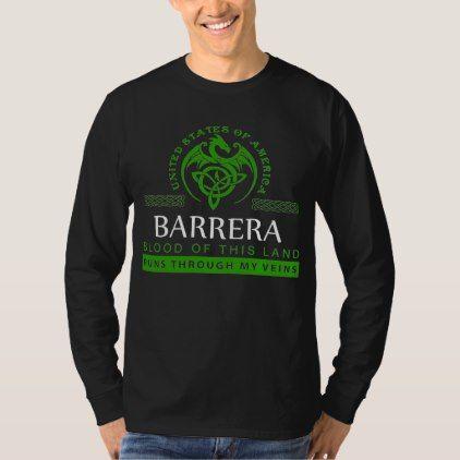 Gift T-Shirt For BARRERA - birthday diy gift present custom ideas