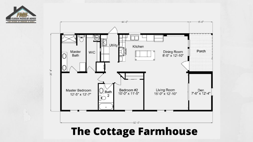 Cottage Farmhouse Florida Modular Homes