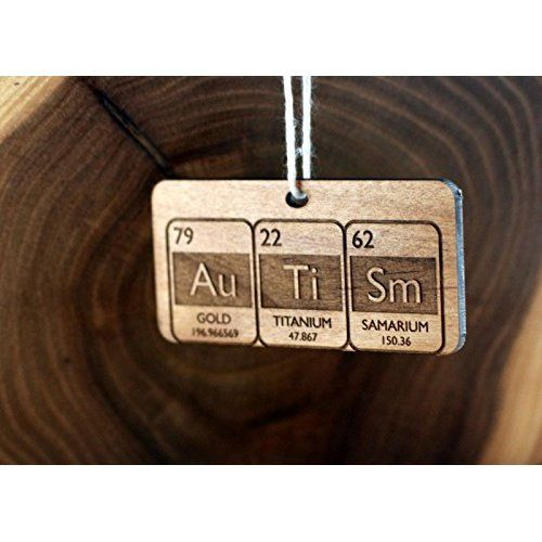 Autism Periodic Table Christmas Ornament Cool Things for the Kids - new periodic table autistic