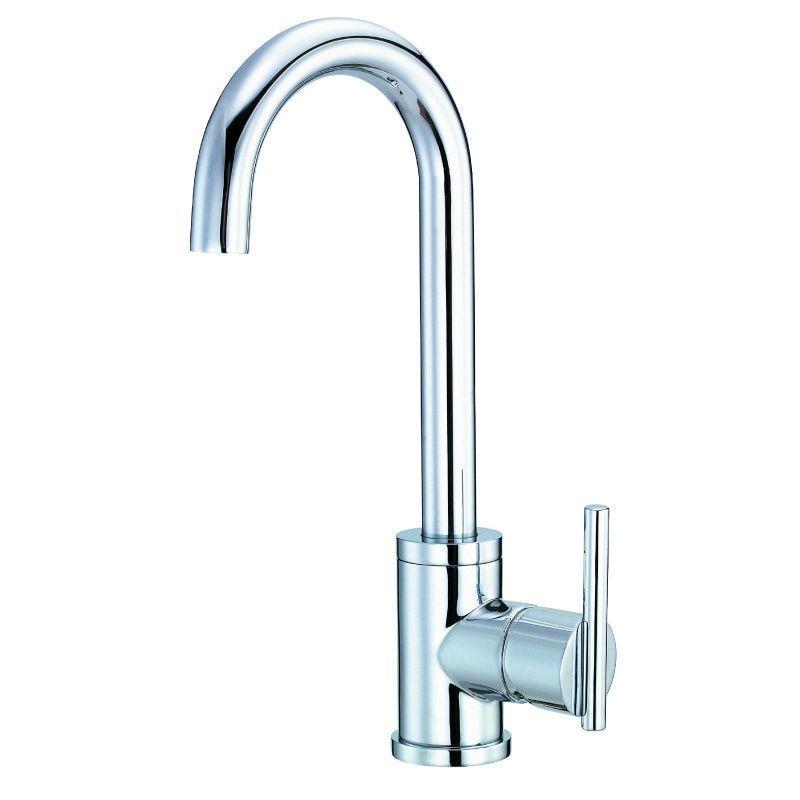 Danze Parma Single Handle Bar Faucet D150558 Chrome (Grey) (Chrome ...