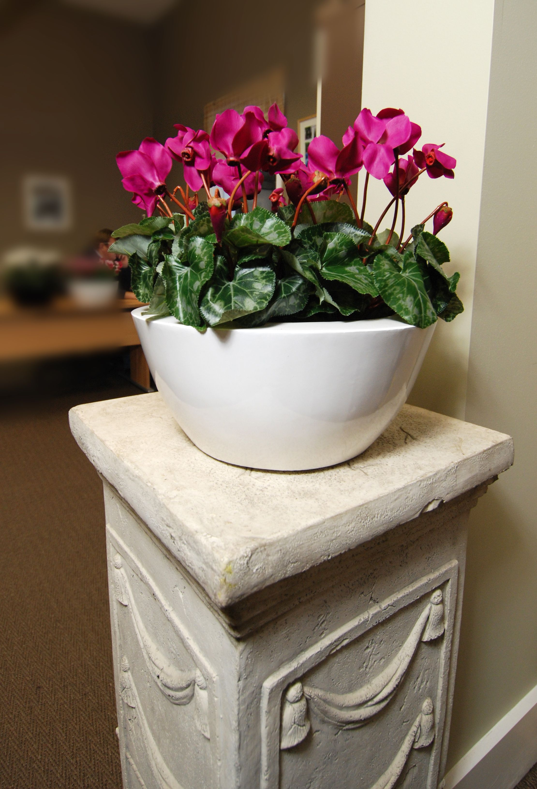 Artificial Pink Cyclamen Plant Artificial flowers and
