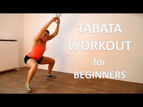 25 Minute Tabata Workout For Beginners - YouTube