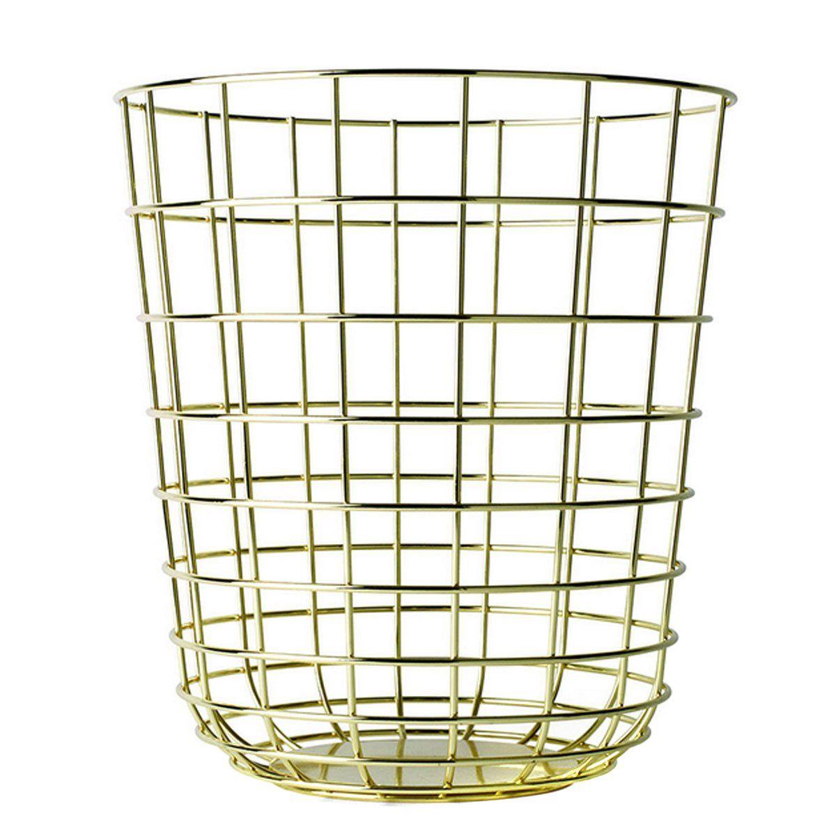 Menu 9000829 Wire Waste Paper Basket Height 35 cm Diameter 32 cm ...