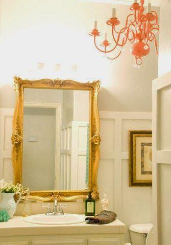 Bathroom Mirrors Under $100 chic budget bathroom makeover for under $100 | chic bathrooms