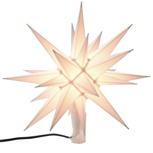 Illuminated Star Christmas Tree Topper - Listing price $3700 Now