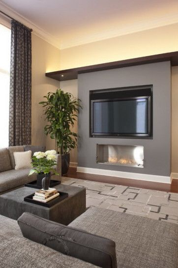 Modern Small Living Rooms  Tv Walls Fire Places And Tv Units Extraordinary Living Room Designs With Fireplace Inspiration