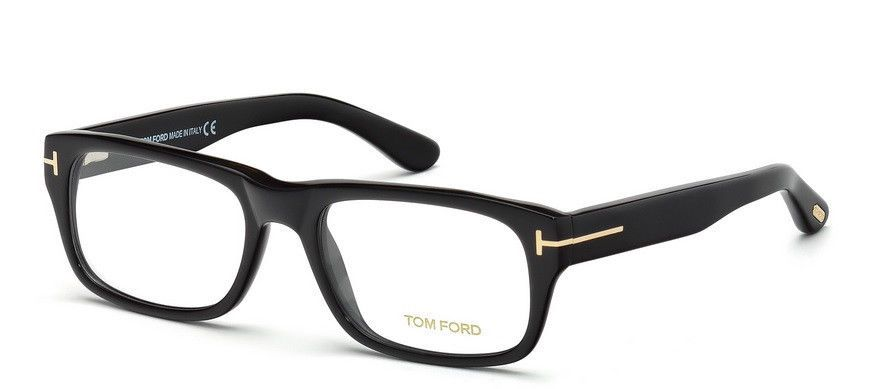 Tom Ford Tf5253 Eyeglasses Ft5253 Prescription 5253 Eye Glasses Frame Unisex 001 Tomford Tom Ford Eyewear Eyeglasses Tom Ford