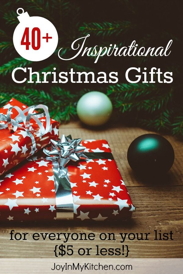 over 40 inspirational christmas gifts under 5 for everyone on your list these clutter free ideas let you give encouragement hope and joy this season - Christmas Gifts Under 5 Dollars