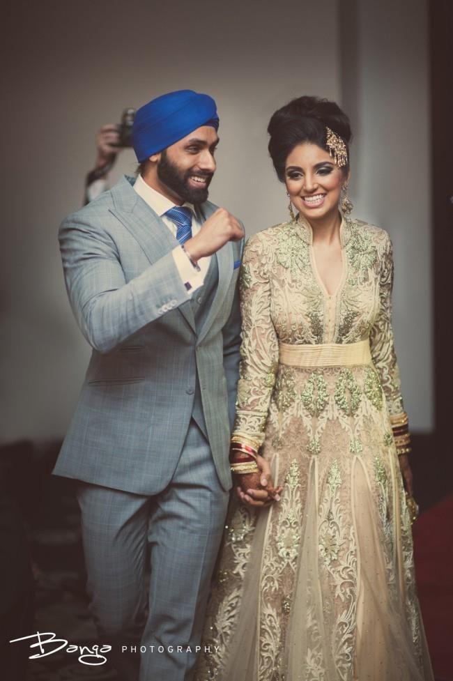 36a indian wedding cream anarkhali | I\'s getting married | Pinterest ...