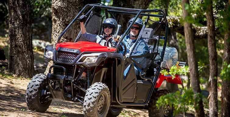 New 2016 Honda Pioneer™ 500 ATVs For Sale in Ohio. The Pioneer 500 is a brilliant concept: Like a full-sized side-by-side, it lets you take a passenger along and has the off-road capability to get you where you need to go. But the Pioneer 500 is a new take on the SxS formula: it's narrow, fits on tight trails, is fun to drive and easy to load into a full-size truck bed. But you still get a full-sized list of features, like Independent Rear Suspension, four-wheel drive, and paddle shifting…
