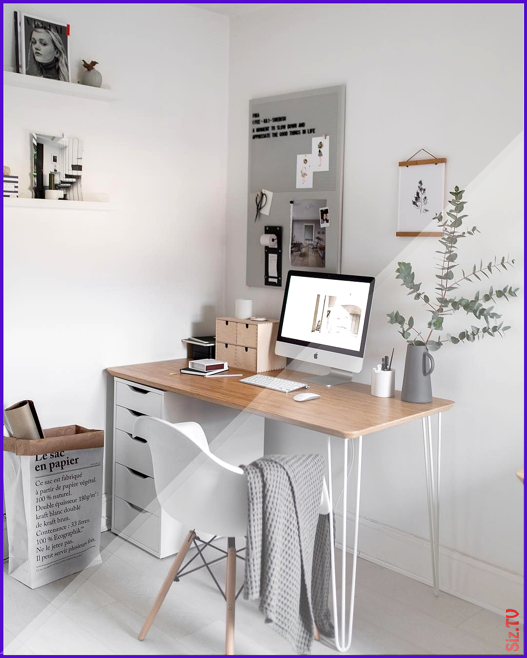 N Rdic Llar On Instagram Back To Work This Is What The Desk In The Study Looked Like 2 Days Ago Until I St Study Room Decor Home Office Design Minimalist Room