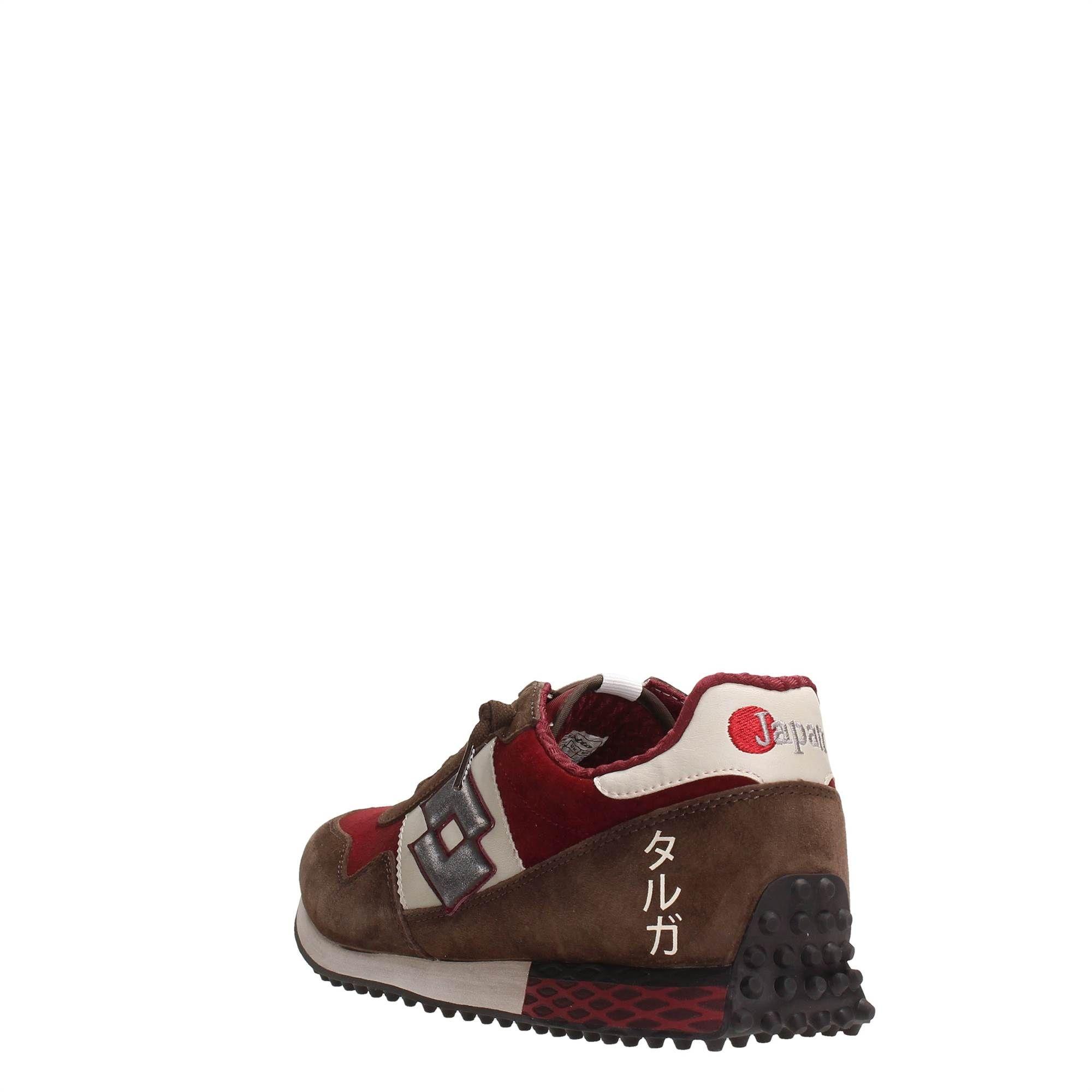 Lotto S5826 Bordeaux Footwear Men Sneakers