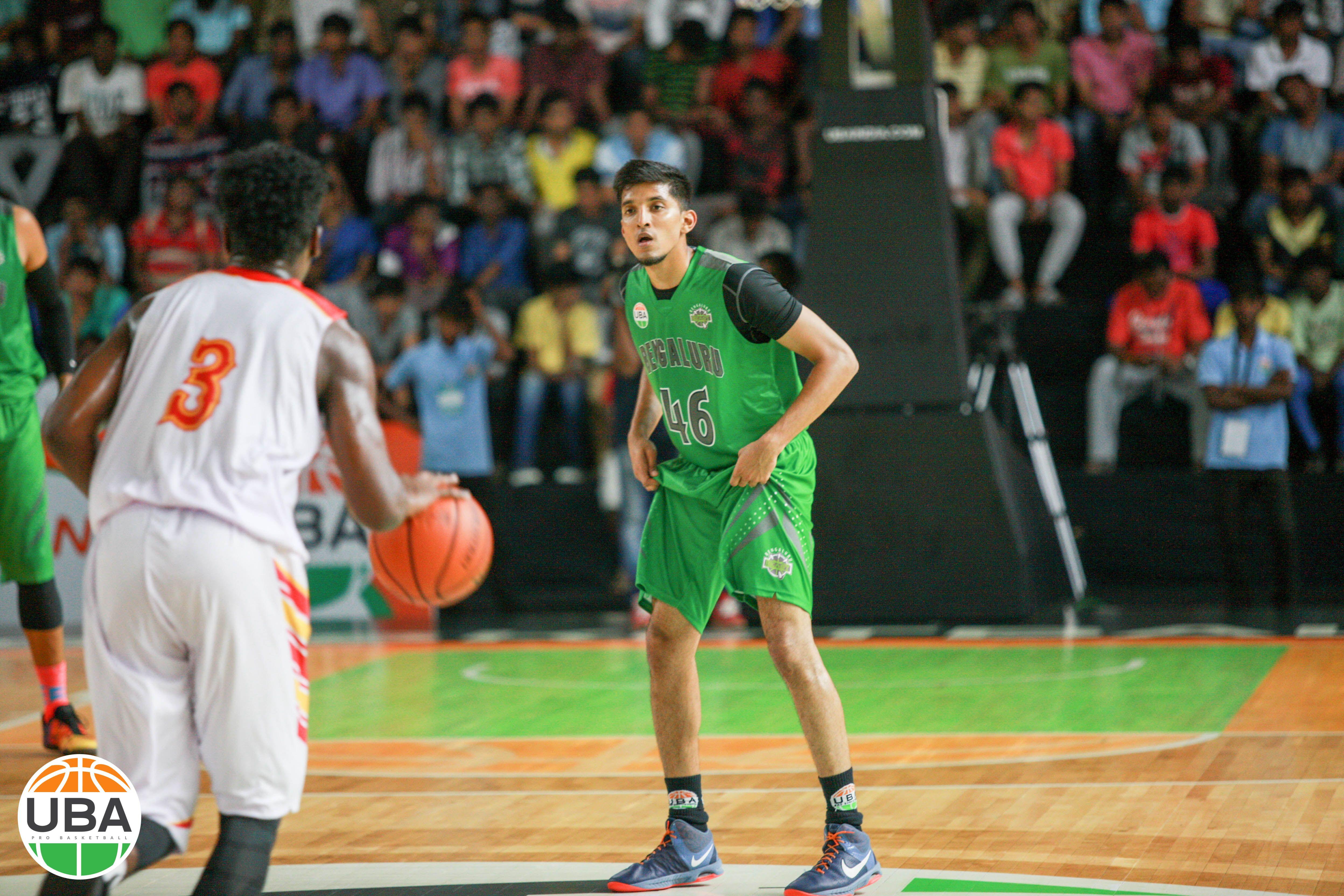 Kaif Zia Getting Into His Tenacious Defensive Stance Vs Pune Peshwas Ubaindia Ubaseason4 Basketball Teams Basketball Court Basketball