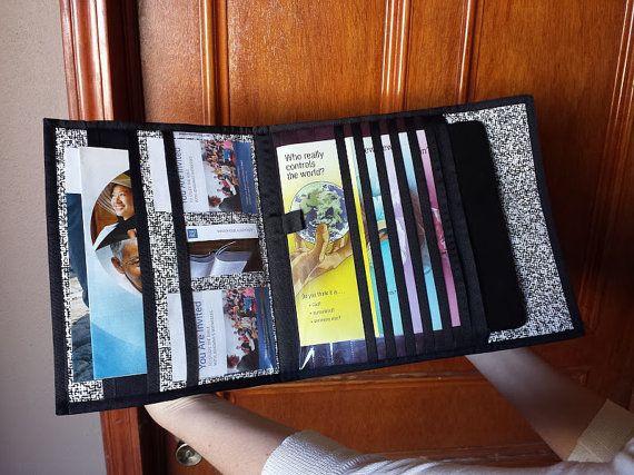 items similar to premium tablet service organizermagazine holder jw on etsy - Field Service Organizer