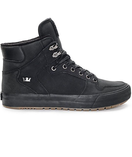 Supra Vaider Cold Weather Black   Gum Boots  4323314042a0