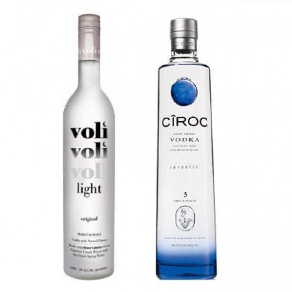 Pitbull & Diddy Vodka Gift Set (Voli & Ciroc); This vodka gift set features Voli Vodka, by Pitbull and Ciroc Vodka by P. Diddy. spiritedgifts.com