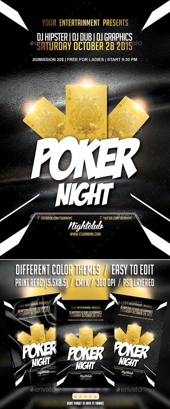 Poker Flyer Templates Mersnoforum