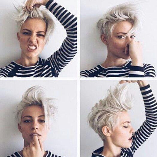 Brittenelle Hair Androgyny Pinterest Short Hair Styles Hair