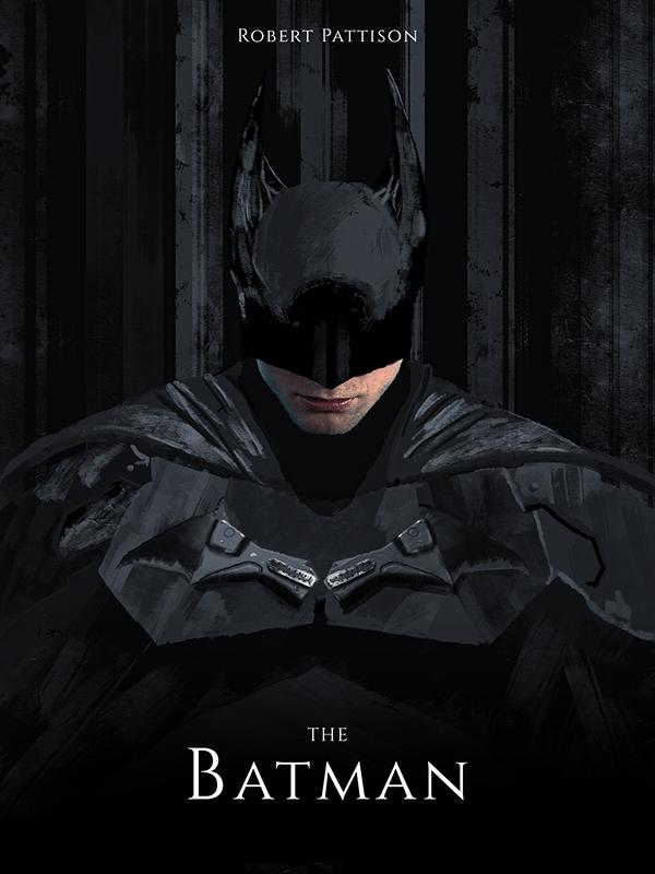 The Batman 2021 On Behance In 2020 Batman Poster Batman Batman Comic Art