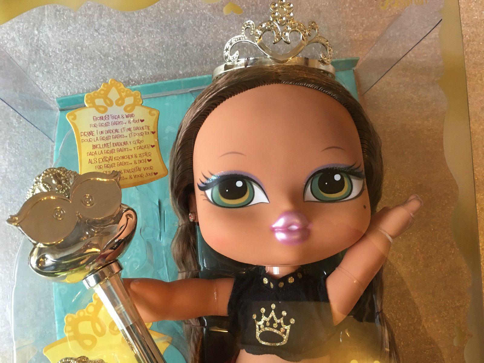 BNIB Bratz Big Babyz Princess Yasmin Doll Approx 12 Inches Tall