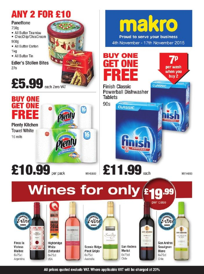 Makro Offers 11th March 7th April 2020