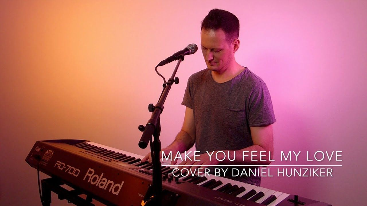 Adele Make You Feel My Love Vocal And Piano Cover Piano