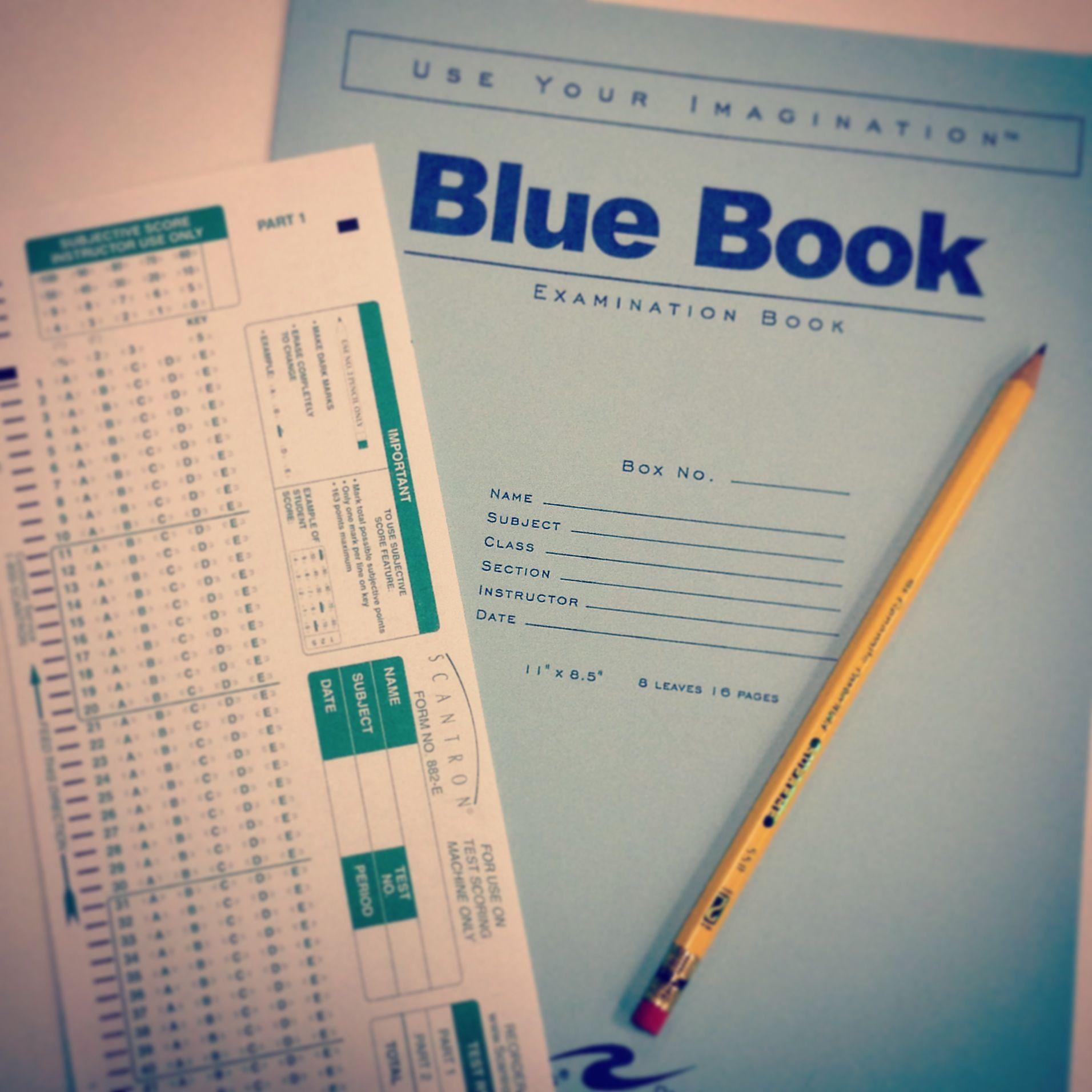 Titanshops Csuf Scantron Bluebook School Supplies
