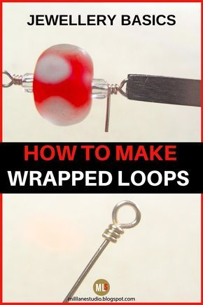 Photo of Jewellery Know How – How to Make a Wrapped Loop