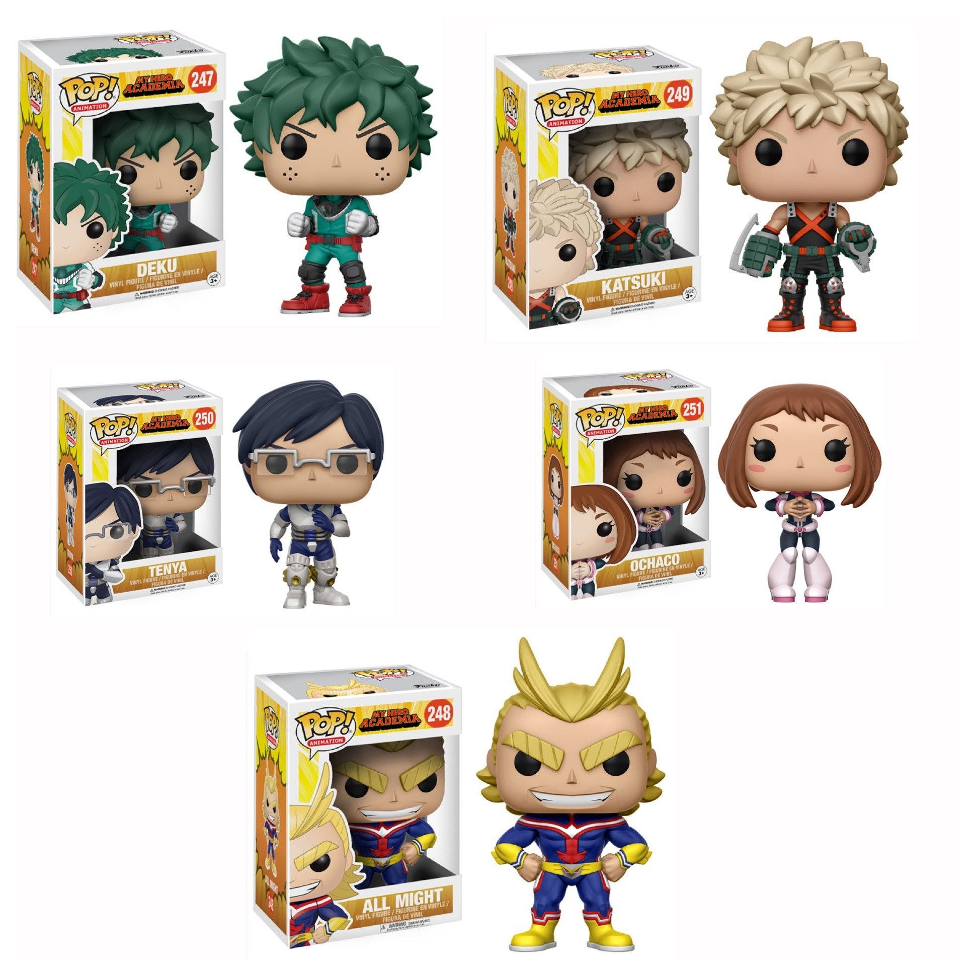 Pop! Animation My Hero Academia Bundle ME WANT NOW!! My