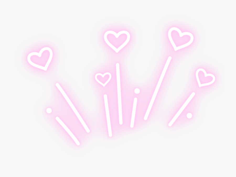 Google Image Result For Https Www Clipartkey Com Mpngs M 157 1577576 Glowing Neon Pink Heart Hearts Sign Boom Lights Png In 2020 Lights Tumblr Neon Lighting Neon