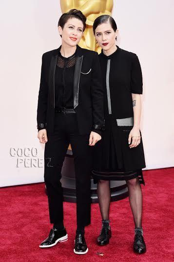 Tegan and Sara Oscars Red Carpet