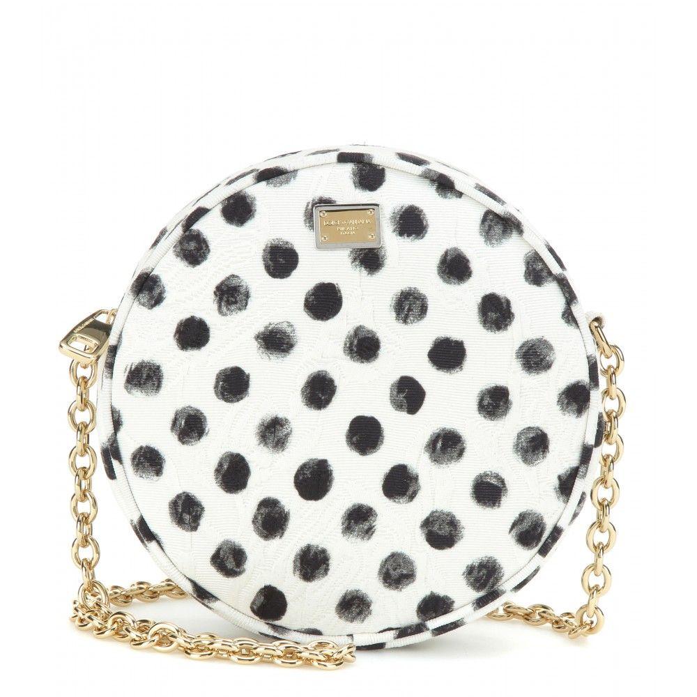 Dolce & Gabbana - Glam printed shoulder bag