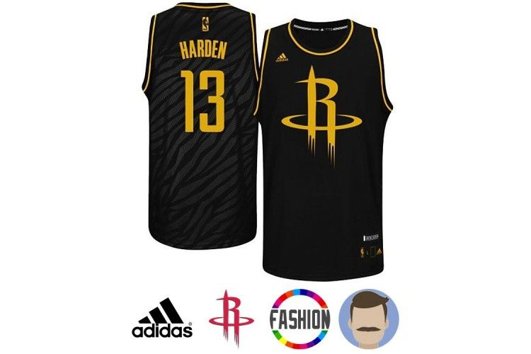 outlet store 8b5a9 db8b2 Men's James Harden #13 Black Swingman Fashion Jersey | James ...