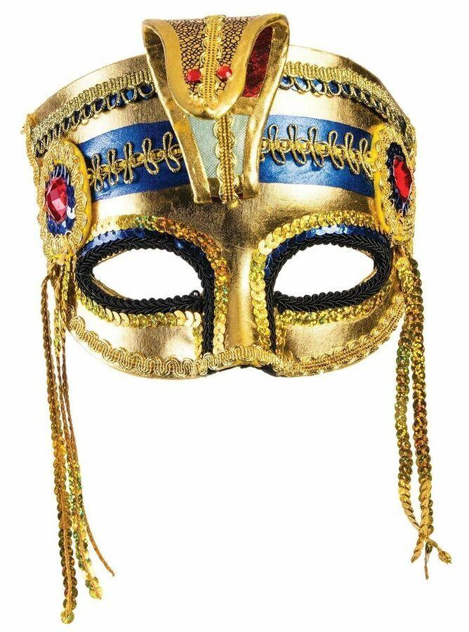 Egyptian Mask with Elastric Strap Venetian Style Half Mask 721773788666 eBay #Ad , #Ad, #Elastric#S… - Egyptian mask, Mummy halloween costume, Masquerade half mask - 웹